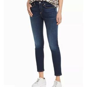 Rag & Bone Ankle Skinny Jeans | Blue